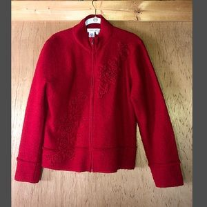 Coldwater Creek Women's Red Jacket size Large